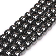 Load image into Gallery viewer, Hematite Natural Gemstone Bead Strand 10-305