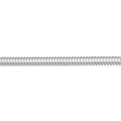 Beadalon French Wire 0.7mm I Meter Silver Plated
