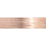 Beading Wire Soft Flex Extreme 26ga 15yds Silver Plated Rose Gold  #250CW26G-SILGLD