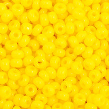 Load image into Gallery viewer, Czech Seedbead 11/0 Lemon  Yellow Opaque 23g 34916V