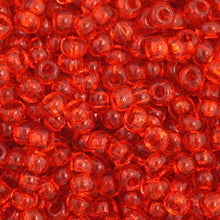 Load image into Gallery viewer, Czech Seedbead 11/0 Orange Transparent 23g 34942V