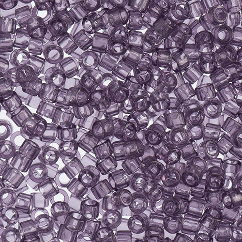 Delica Seed Bead 11/0 RD Light Amethyst Transparent 1105V