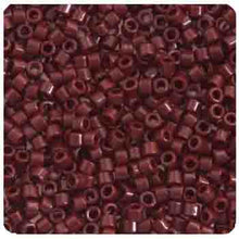 Load image into Gallery viewer, Delica Seed Bead 11/0 RD Brown Currant Opaque 1134V
