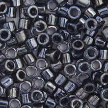 Load image into Gallery viewer, Delica Seed Bead 10/0 RD Gunmetal DB-0001B Bulk 50g