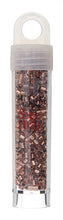 Load image into Gallery viewer, Delica Seed Bead 8/0 RD Copper AB Metallic Matte  0312V