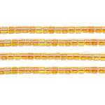 Load image into Gallery viewer, Delica Seed Bead 10/0 RD Topaz AB Lined Dyed 0065V