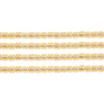 Load image into Gallery viewer, Delica Seed Beads 8/0 RD Crystal Yellow Ceylon Lined-Dyed 0233V