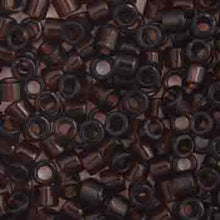 Load image into Gallery viewer, Delica Seed Beads 10/0 RD Dark Brown Transparent 0715V