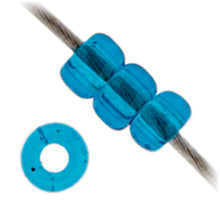 Load image into Gallery viewer, Miyuki Seed Bead 11/0 Capri Blue Transparent 0149V