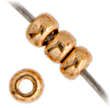Load image into Gallery viewer, Miyuki Seed Bead 11/0 Gold Galvanized DB1052