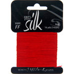 Load image into Gallery viewer, Dazzle it Silk Bead Thread Size FF 16 Yards