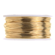 Load image into Gallery viewer, Artistic Copper Wire Non Tarnish Brass 24GA 20 Yards AW24NTB