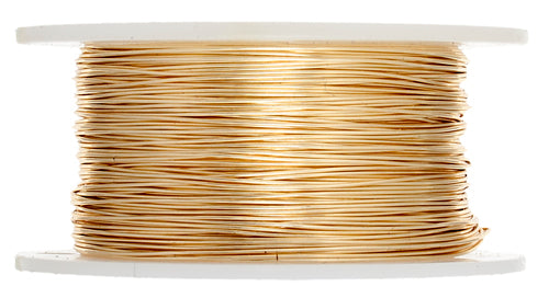 Artistic Wire (Gold Colour) 28 Gauge 15 Yd. 2005-12