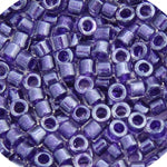 Load image into Gallery viewer, Delica 11/0 RD Amethyst  Sparkle Crystal Lined