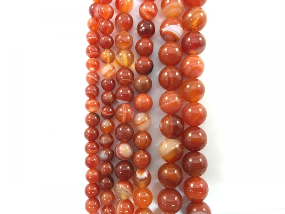 TOP QUALITY 700.00 CTS NATURAL UNTREATED ORANGE AGATE FACETED BEADS NECKLACE