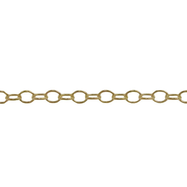 14K Gold Filled Cable Chain by the foot J4012520_ROLL