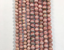 Load image into Gallery viewer, Rhodochrosite Natural Gemstone Bead Strand #10-167