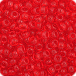 Load image into Gallery viewer, Czech Seedbead 11/0 Light Red  Transparent approx 23g