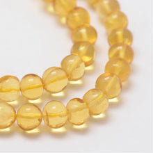 Load image into Gallery viewer, Natural Amber Gemstone Bead Strand 9-59