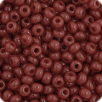Load image into Gallery viewer, Czech Seedbead 11/0 Cranberry  Opaque approx 23g