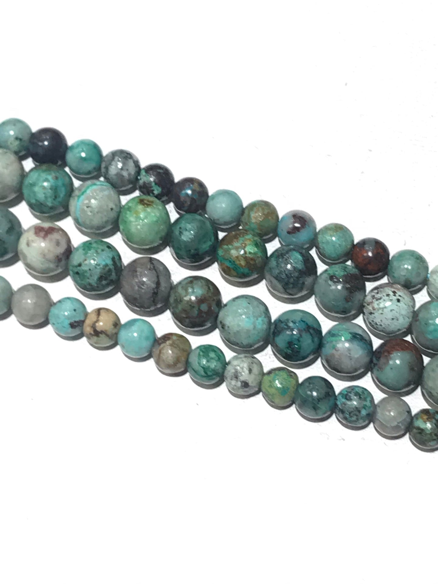 Chrysocolla Natural Gemstone Beads #10-187