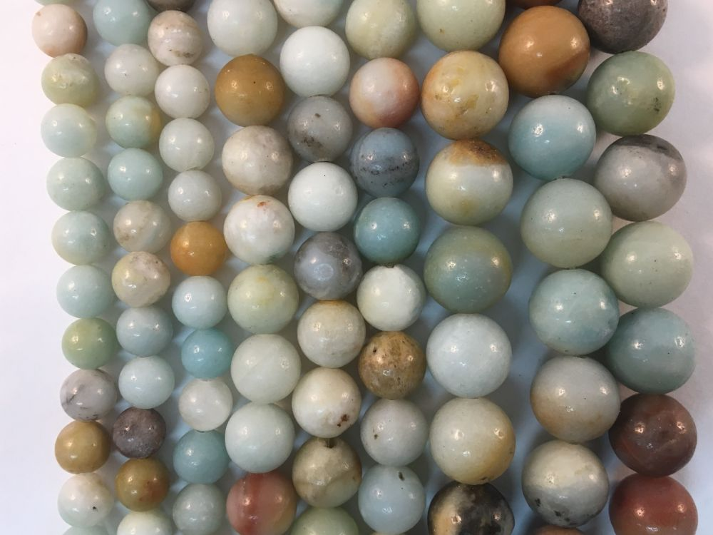 Amazonite Natural Gemstone Beads #10-55
