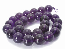 Load image into Gallery viewer, Amethyst Natural Gemstone Beads #10-51