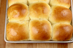 Milk Bread Honey Buns are the softest and most delicious dinner rolls that you've ever made! A light and fluffy homemade roll that your family is sure to love and is an impressive addition to special occasion meal.