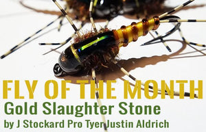 Fly of the Month – Gold Slaughter Stone
