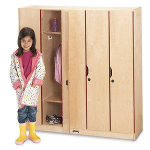 #1033 Jonti-Craft¨ Lockers With Doors- 5 Sections