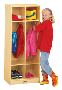 TWO SECTION CLASSROOM LOCKER by Jonti-Craft