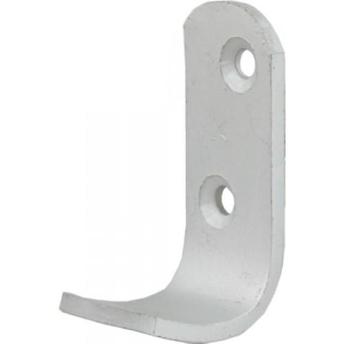 2PC Aluminium Coat Hooks