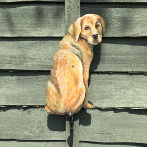Golden Labrador Coat Hook