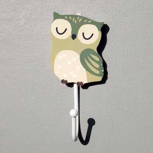 Forest Animal Childrens Coat Hook, Owl