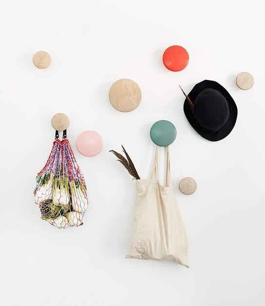 Muuto THE DOTS COAT HOOK ROSE SMALL