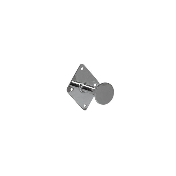 Wall Mount Dressing Room Hook  80 D With 95 Hx75Mm W Plate