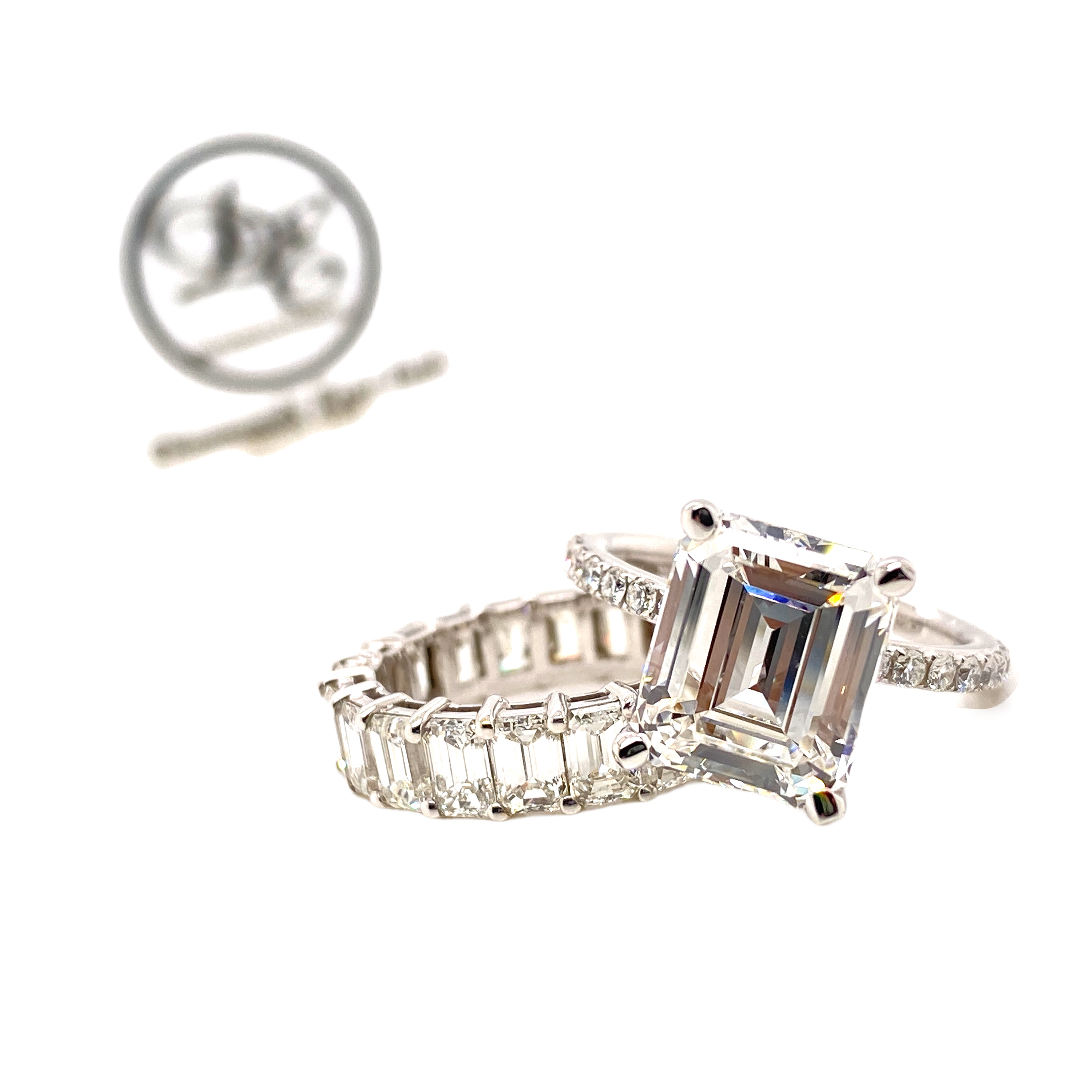 Diamond Engment and Wedding Ring