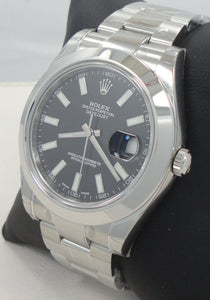 Rolex Explorer II 16570 GMT Oyster Date White Dial Watch