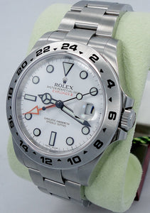 Rolex Oyster Perpetual Explorer II 216570 White Dial