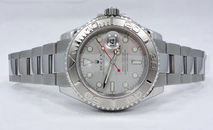 Rolex Yacht-Master 16622 40mm Oyster Platinum Bezel Watch