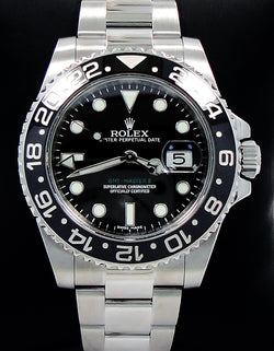 Rolex Oyster Perpetual GMT-Master II 116710LN PAPERS