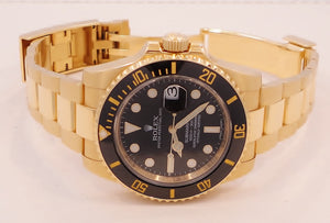 Rolex Oyster Perpetual Submariner Date 116618 BLK BOX/PAPERS