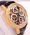 CHRONOSWISS OPUS CH7521 18K Yellow Gold Chronograph SKELETON Dial 38mm