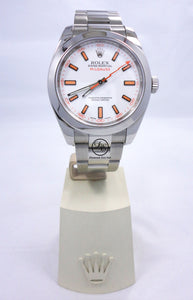 Rolex Oyster Milgauss 116400 White Dial