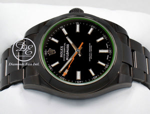 Rolex Oyster Milgauss 116400GV PVD Coated