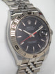 Rolex Datejust 116264 Turn-O-Graph Black Dial 18K White Gold Bezel FULLY SERVICED