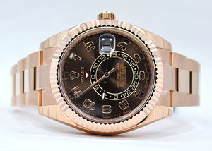 Rolex Sky-Dweller 18k Rose Gold 326935 Unworn