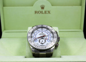 Rolex Yacht-Master II 116689 18K White Gold BOX/PAPERS