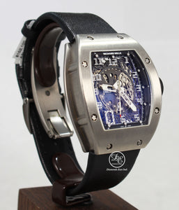 Richard Mille RM010 Titanium Yellow / Black Strap Limited Edition Watch