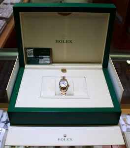 ROLEX President Crown Collection 179238 18K Yellow Gold Factory MOP Diamonds BOX/PAPERS